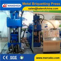 Wholesale Y83-5000 500ton heavy duty Scrap Metal Chips Briquetting Press for Aluminum and copper chip sawdust from china suppliers