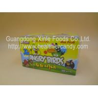 Buy cheap Angry Bird 11g Low Calorie Candy Bar Mix Fruit CC Chubby Stick Curvy Candy from wholesalers