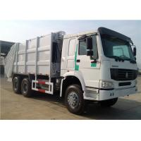 Wholesale HOWO 10 wheeler Rear Loader 20CBM 20M3 Compactor Compressed compression Garbage Truck from china suppliers