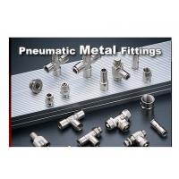 Wholesale Brass Hydraulic Cylinder Components Pneumatic Metal Push - In Fitting from china suppliers