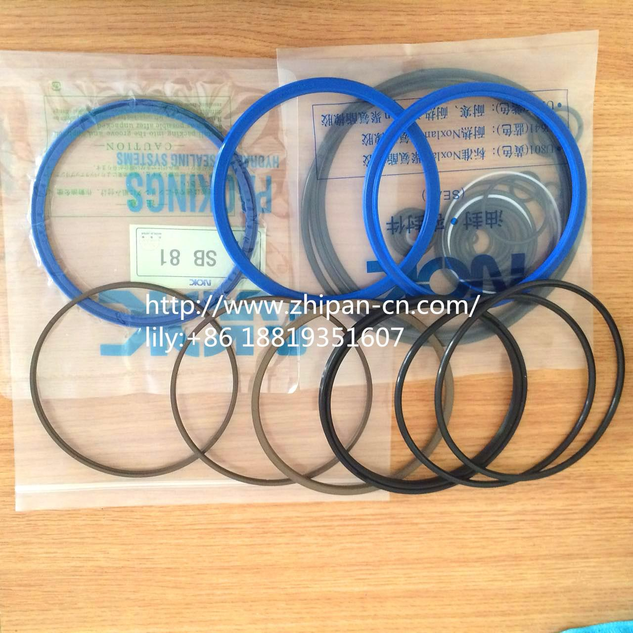 Wholesale Soosan SB-81 Complete Breaker Seal Kit 1.5m/S Speed Abrasion Resistance from china suppliers