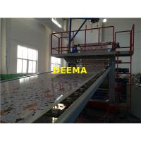 Buy cheap 1220mm PVC Marble Sheet Machine In Stock 400kg/h Capacity 20m*3m*3m from wholesalers
