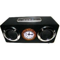 Wholesale Popular Band Clock Mini Speaker Multi-Function for Music Play (UK-D12A) from china suppliers
