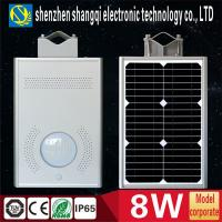Wholesale High Brightness 6000k - 6500K White Solar Powered LED Garden Lights 8 Watt from china suppliers