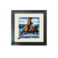 Wholesale Running Horse Image 3D Lenticular Printing Service MDP Frame 5D Effect from china suppliers