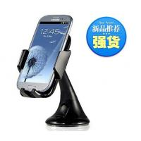 Stylish Rotating Car Cell Phone Desktop Holder Black For Samsung