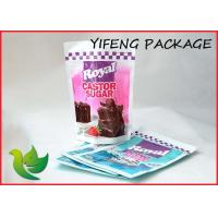 Wholesale Food Grade Plastic Stand Up Pouches With Zipper / Custom Stand Up Pouches For Food from china suppliers