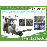 Quality Fully Automatic  Hardware fitting include screw nail nuts bolts counting and packing machine with 2 vibration bowls for sale