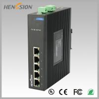Wholesale Fanless Dinrail Industrial Level Ethernet Network Switch For Plug And Play from china suppliers