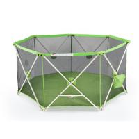Wholesale Collapsible Small Playpens For Babies / Double Lock Baby Folding Playpen from china suppliers