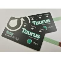 Buy cheap Printed Circuit Tactile LED Membrane Switch With Embossing Key Rosh from wholesalers