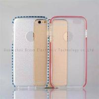 Buy cheap clear cell phone case,for iphone 6,transparent TPU material,anti-dust,fashion design,models from wholesalers
