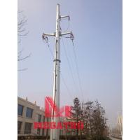 Wholesale 110KV single circuit tension terminal  transmission line monopole from china suppliers