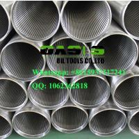 Quality Oasis factory supplies stainless steel water well drilling wedge wire johnson screens for sale
