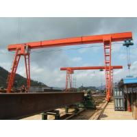Wholesale Single Girde Steel A Frame Gantry Crane With Electric Hoist 3~20T MH Model from china suppliers