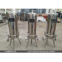 Wholesale Stainless steel cartridge filter housing with multi cartridge elements from china suppliers