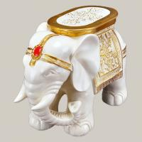 China The elephants , Footstool crafts , Resin crafts on sale