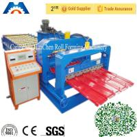 Wholesale Cr 12 Rollers Step Tile Cold Roll Forming Machine 380V 50Hz 3 Phases from china suppliers
