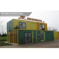 Wholesale Fancy Resort 40ft Prefab Shipping Container Homes with Double Story , Steel Structure from china suppliers