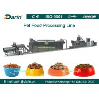 Wholesale Double Screw Pet Food Extruder machine , dog food manufacturing equipment from china suppliers