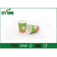 Wholesale Health Customized PE Coated Various Design Coffee Paper Cups For Hot Beverage tea from china suppliers
