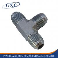Buy cheap AJ Forged JIC male 74 cone carbon steel hydraulic adapter fitting from wholesalers