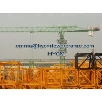 Wholesale QTZ160 6020 Top Headless Tower Crane 10 t Load Potain Mast Sections from china suppliers