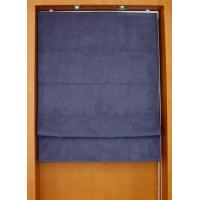 Wholesale 100% polyester fabric roman shades for windows with aluminum headrail and pvc bottomrail from china suppliers