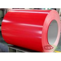 Wholesale Red Brushed Hydrophilic PE PVDF PVC Coated Aluminium Sheet from china suppliers