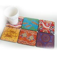 Wholesale Wholesale custom bulk blank cheap round mdf cork coaster/drink coaster/coasters with logo from china suppliers