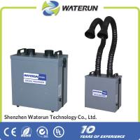 Wholesale Portable Welding Fume Extractor , Double Pipe Fume Purifying Filtering System from china suppliers