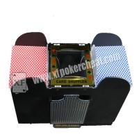 Wholesale Black Casino Cheating Devices , Eight Deck Automatic Playing Card Shuffler With Camera from china suppliers