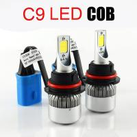 Wholesale 6000K LED Car Headlight Bulbs C9 - H1 Beam Angle 360° For ALL IN ONE Style Vehicle from china suppliers
