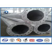 Wholesale Black Welding Electricity Transmission Line Steel Tubular Poles 25m with 5.0mm Thickness from china suppliers