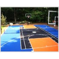 Quality Multi Purpose Suspended Modular Sports Flooring Used For Badminton Court for sale