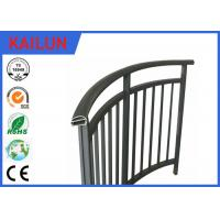 Wholesale Powder Coated Extrusion Aluminium Balustrade Profiles For Interior Stairway 85 Mm Width from china suppliers