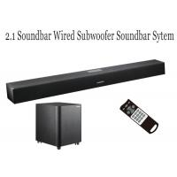 Wholesale Full Function TV Soundbar With Wired Subwoofer For Home Theater Music System from china suppliers