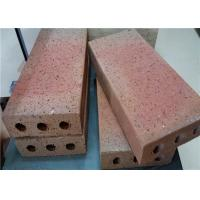 Wholesale Turned Color Clay Baking Brick For Outside Road Thickness 30/40/50/60mm from china suppliers