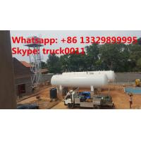 Wholesale 50m3 China cheapest price domestic lpg gas tank for sale, high quality 25tons above ground lpg gas storage tank for sale from china suppliers