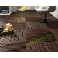 Wholesale Indoor-Outdoor Bamboo Tile Manufactuer In China, Water Resistant Bamboo Deck Tiles For Sale from china suppliers