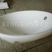 Wholesale artificial marble single bathroom sink and basin from china suppliers