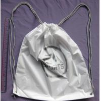 Wholesale Double Shoulders Plastic Drawstring Backpack Bags For Travel / Swim / Run / Sports / Relaxation from china suppliers