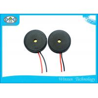 Wholesale High Sound Pressure Mirco Piezo Buzzer 13 * 2.5 mm External Drive Wire Used in Computers from china suppliers