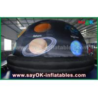 Wholesale 210 D Oxford Cloth And Projection Inflatable Planetarium Dome Black Color from china suppliers