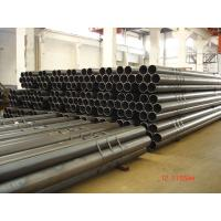 Quality Black Round Welded Steel Pipes For Structure, Q345B, S355 Circular Steel Pipe With Internal Beam Removed for sale