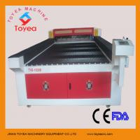 Quality CO2 metal & non-metal laser cutting machine with W8 reci laser tube Ruida control system  TYE-1530S for sale