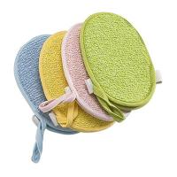 Wholesale Loofah Bath Body Scrubber Custom Rectangle Exfoliating Soap Pouch from china suppliers