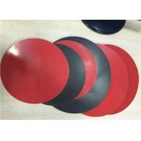 Buy cheap 1.8mm Thick 3003 Aluminum Circle Sheet Red Teflone Coating 250mm Corrosion Resistance from wholesalers