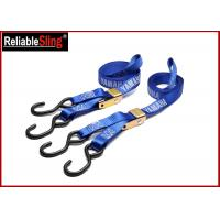 Wholesale Custom 1 Inch Cam Buckle Tie Down Strap , Polyester Cargo Lashing Strap from china suppliers
