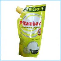 Buy cheap Laminated PET / AL / PE Stand-Up Pouch With Spout Packaging Gravure Printing from wholesalers